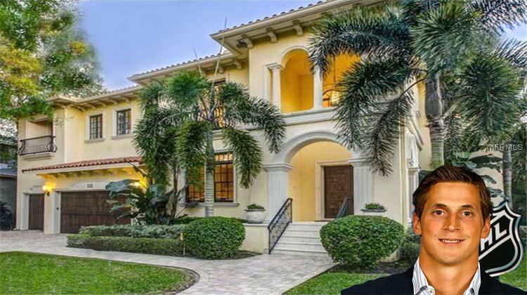 Vincent Lecavalier sells Tampa Bay home