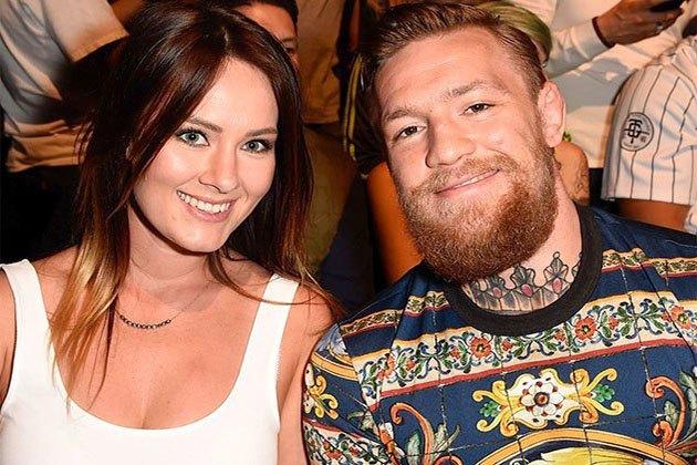 Conor McGregor and girlfriend Dee Devlin