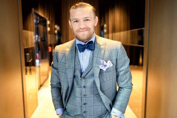 Conor McGregor in a suit