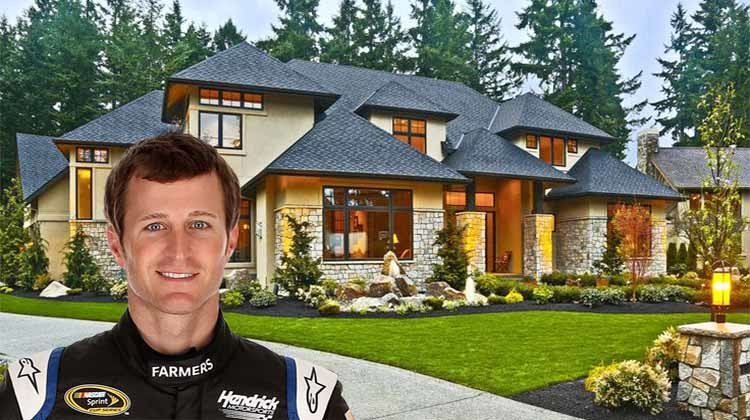 NASCAR driver Kasey Kahne buys his first home