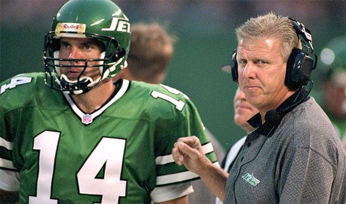 New York Jets quarterback Neil O'Donnell