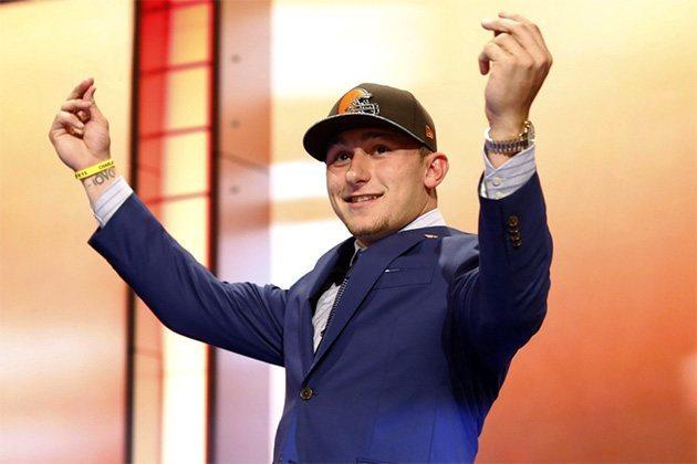 Johnny Manziel NFL Draft Bust