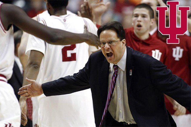 Tom Crean of the Indiana Hoosiers