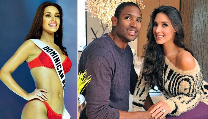 Al Horford and his wife Amelia Vega