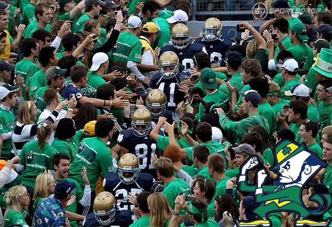 Notre Dame Football Fans