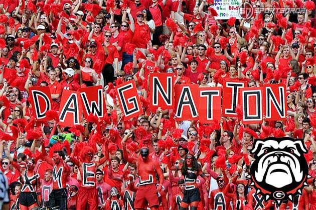 University of Georgia Football fans
