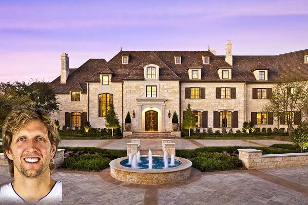 Dirk Nowitzki's home in Dallas