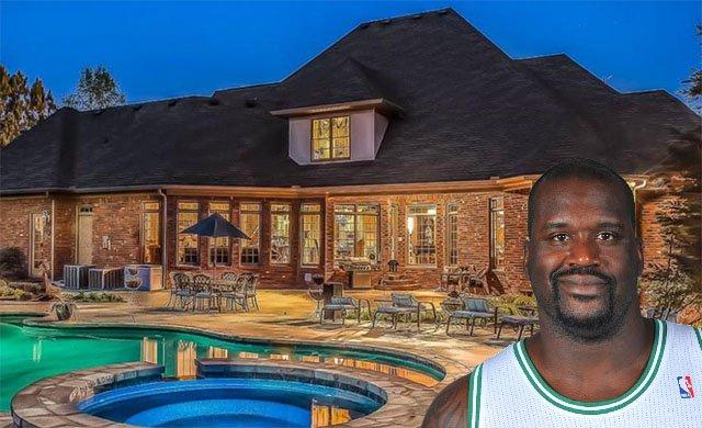 Shaq buys a new house in Atlanta