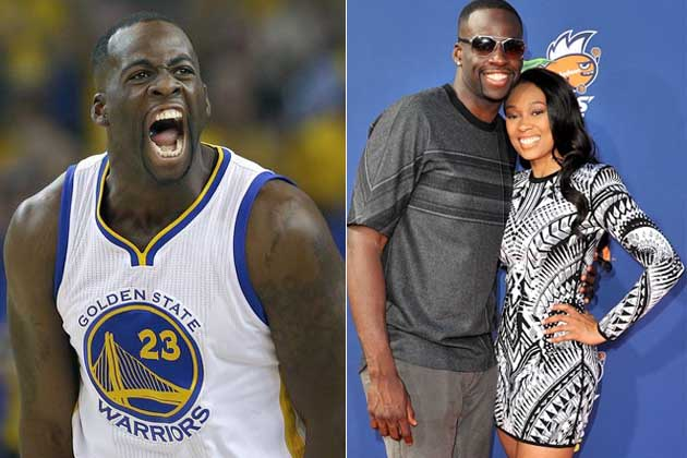 Draymond Green and Jelissa Hardy