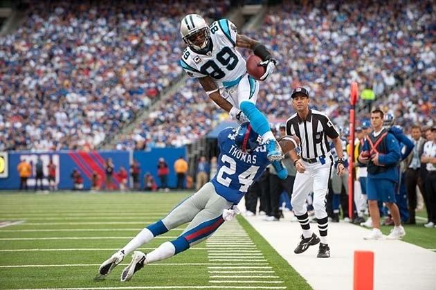 Steve Smith touchdown
