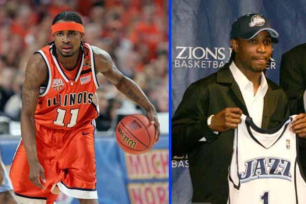 Dee Brown Illinois Guard drafted by Utah Jazz