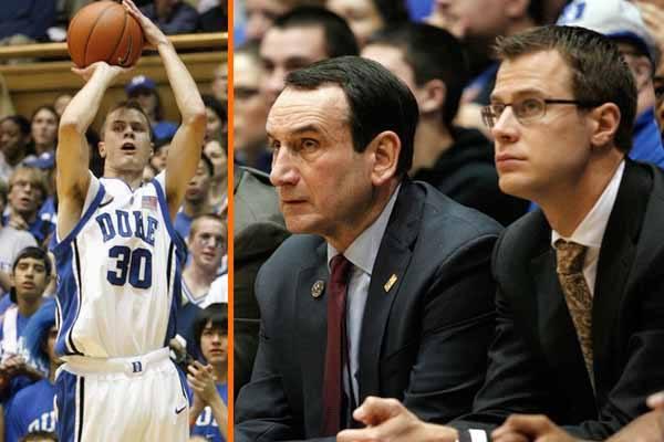 Jon Scheyer Duke Player & Coach