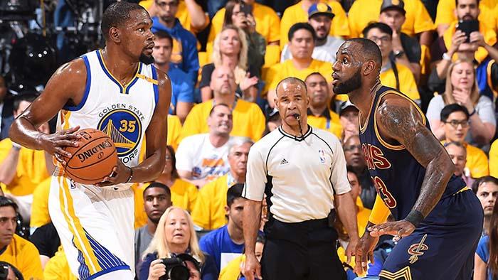 2017 NBA Finals Game 1