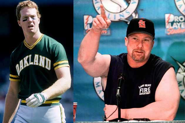 Mark Mcgwire Before And After 15 MLB Sluggers Before...