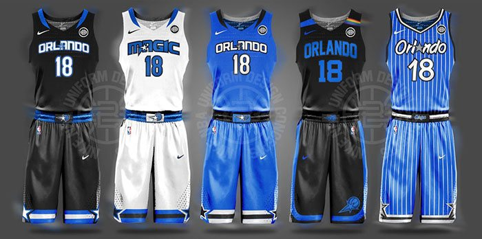 Awesome New Uniform Designs For All 30 Nba Teams Page 24