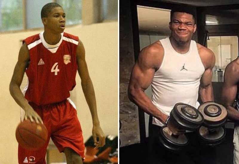 Giannis Antetokounmpo body transformation