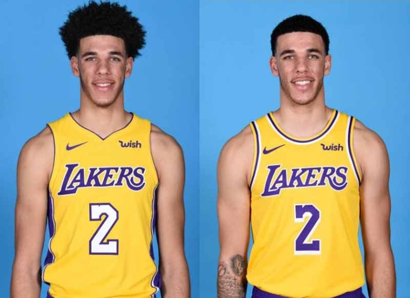 Lonzo Ball In The Gym