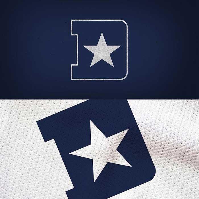 Dallas Cowboys Logo Redesigned