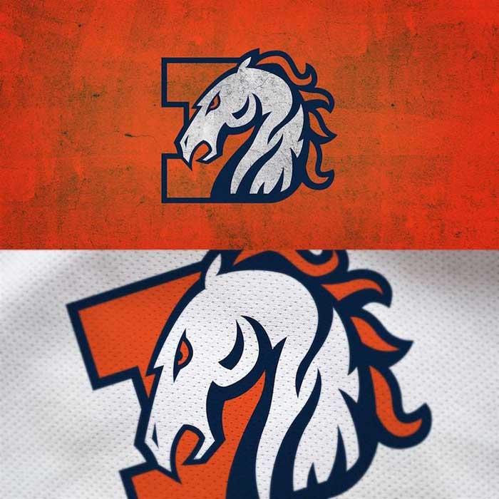 Denver Broncos Logo Redesigned
