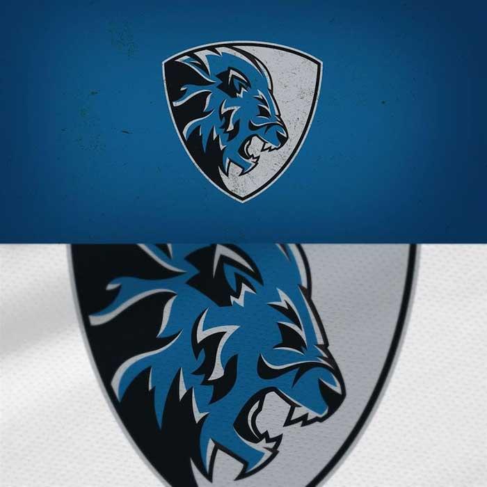 Detroit Lions Logo Redesigned