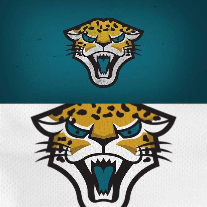 Jacksonville Jaguars Logo Redesigned