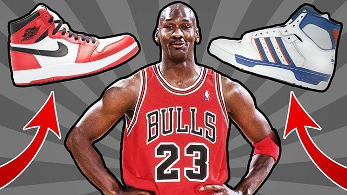 Michael Jordan almost signed with Adidas over Nike