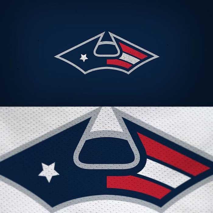 New England Patriots Logo Redesigned