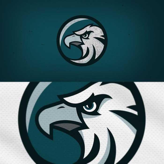 Philadelphia Eagles Logo Redesigned