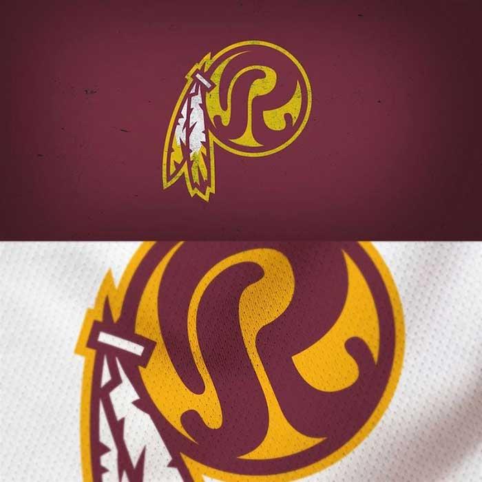 Washington Redskins Logo Redesigned