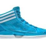 Adidas Crazy Light summer sharp blue/white colorway
