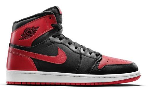Air Jordan 1 banned colorway