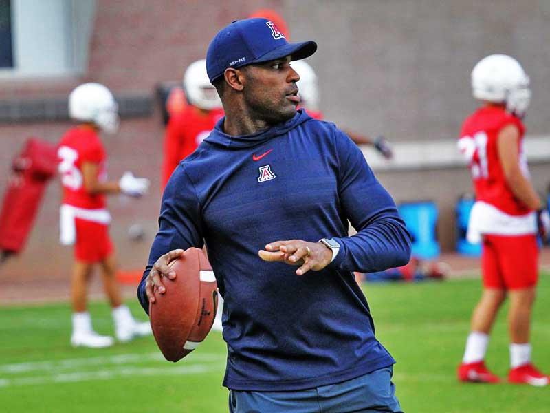 DeMarco Murray coaching University of Arizona