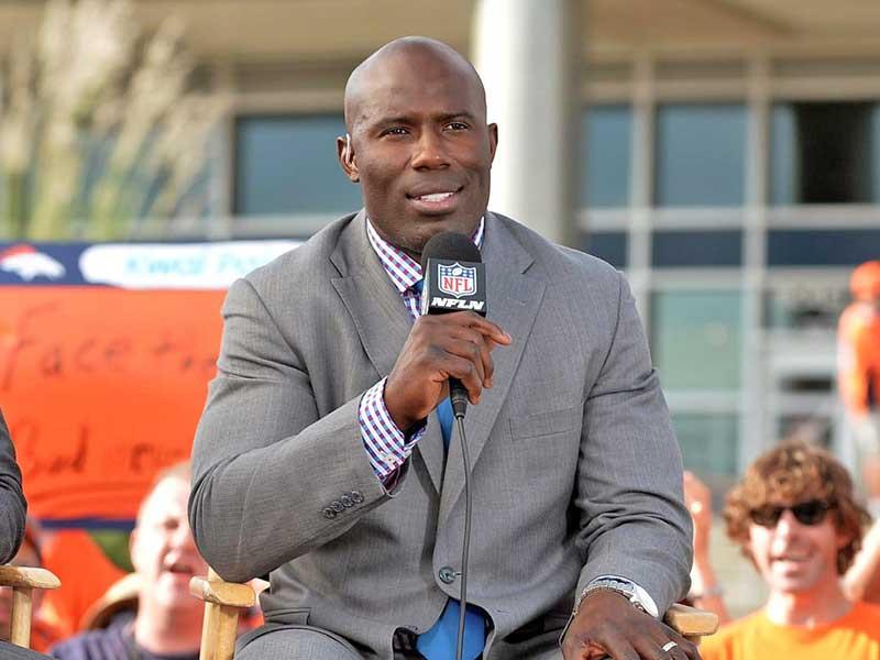 Terrel Davis working at NFL Network